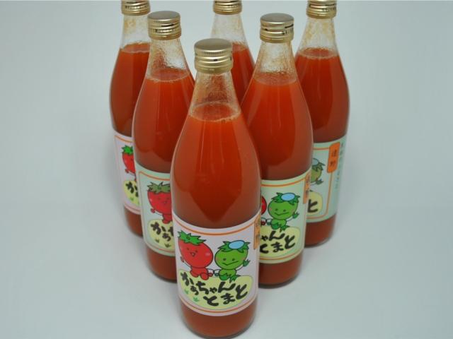 かあちゃんトマト(900ml×6本セット)商品写真