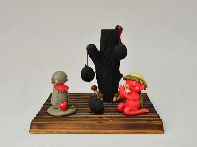 遠野の炭と赤かっぱ【受注生産】